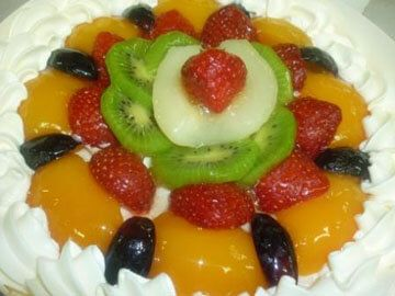 Mix Fruit Cheesecake