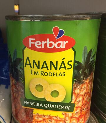 Ananas Em Calda